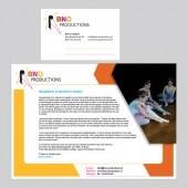Corporate identity BNO Productions