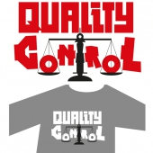 T-shirt design Quality Control