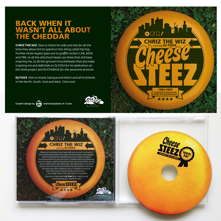 CD artwork Cheese Steez