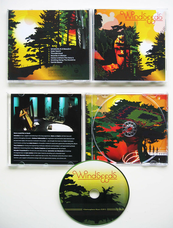CD artwork Windseeds