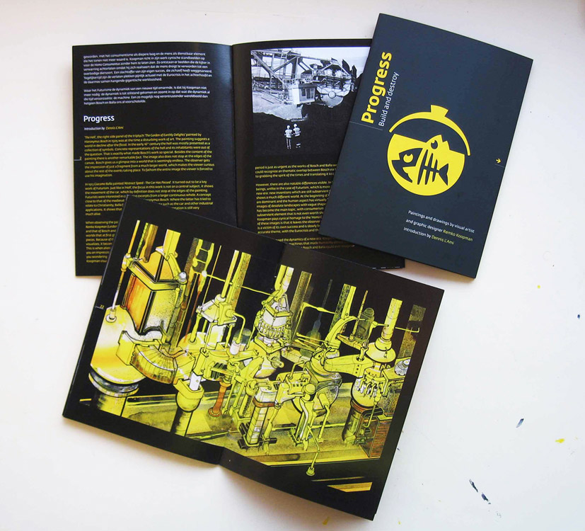 Portfolio booklet 'Progress'